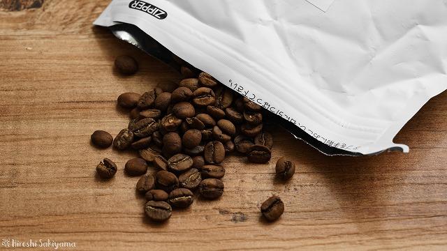 ローキートーンブレンドのコーヒー豆