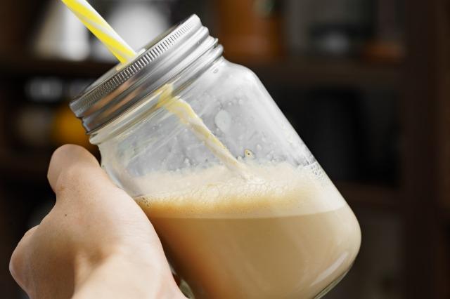 豆乳で作ったカフェテイン