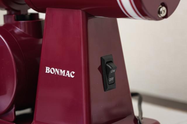 ボンマック コーヒーミル BM-250Nの背面スイッチ