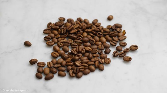 横砂園で買ったエチオピアのコーヒー豆