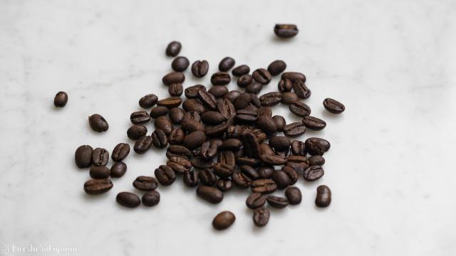 横砂園で買ったマンデリンのコーヒー豆