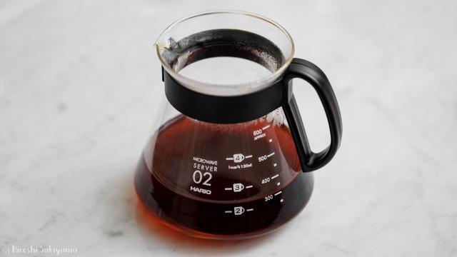 タカムラ コーヒーロースターズのコーヒー豆をペーパードリップで淹れたコーヒー