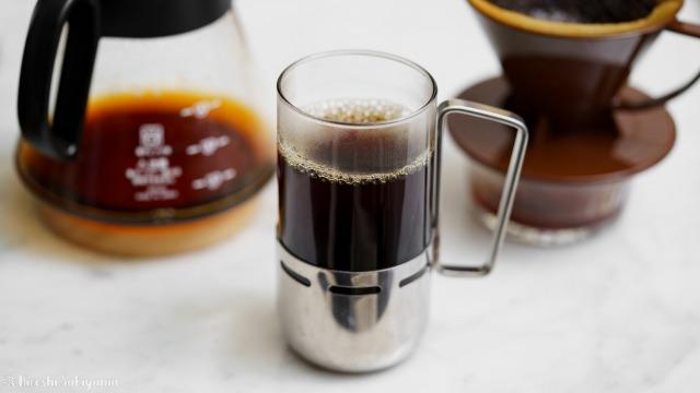 焙煎香房シマノのコーヒー豆で淹れたコーヒー