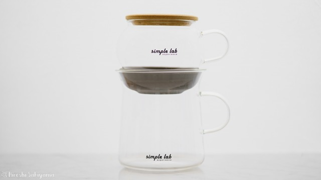【Simple Lab Experience】AIRO. air-lock easy brewing tea set【MAGIC BREW】