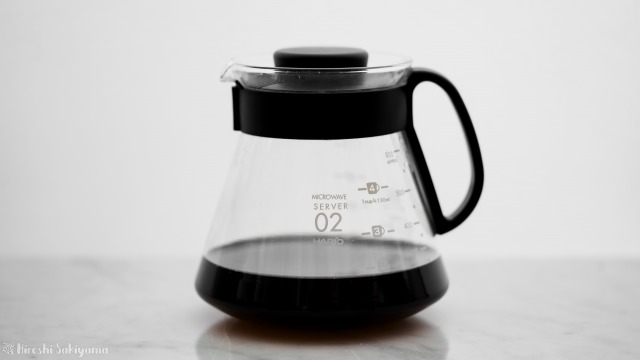 堀口珈琲さんのコーヒー豆でペーパードリップにて淹れたコーヒー