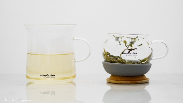 【Simple Lab Experience】AIRO. air-lock easy brewing tea set【MAGIC BREW】で抽出完了