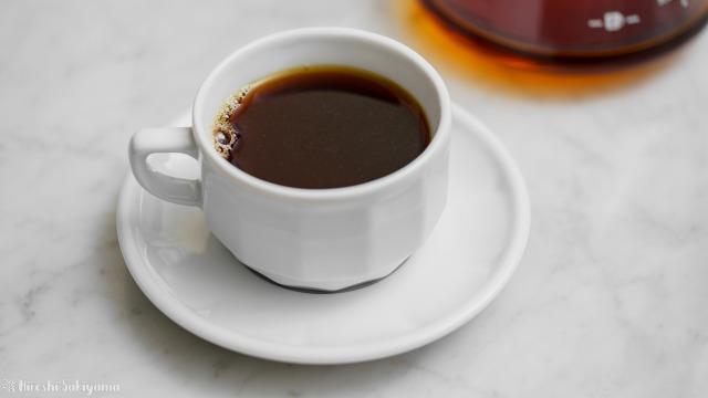 珈琲螺房のブルーマウンテンNO.1で入れたコーヒー