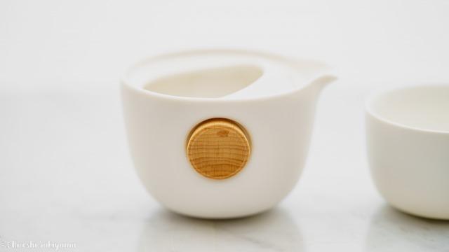 宜龍 Eilong 中国茶テイスティングセットの茶壺を横から