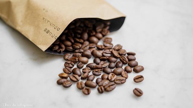 ひつじ珈琲のひつじブレンドのコーヒー豆