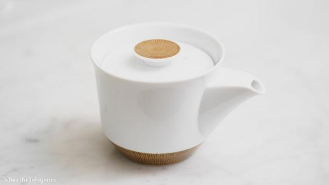 白山陶器 茶宝 栗茶の急須