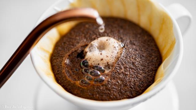 欅Cafe&焙煎、ドリップ