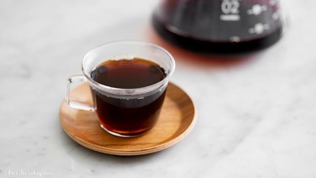珈琲工房リバティ、淹れたコーヒー