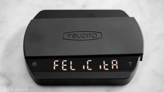 Felicita ARC エスプレッソスケール、起動画面
